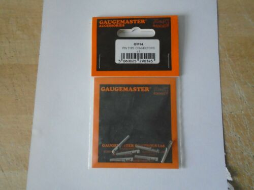 GAUGEMASTER GM14 HORNBY TYPE X8011 PIN TERMINALS X 6 NEW SOLDER OR CRIMP ON