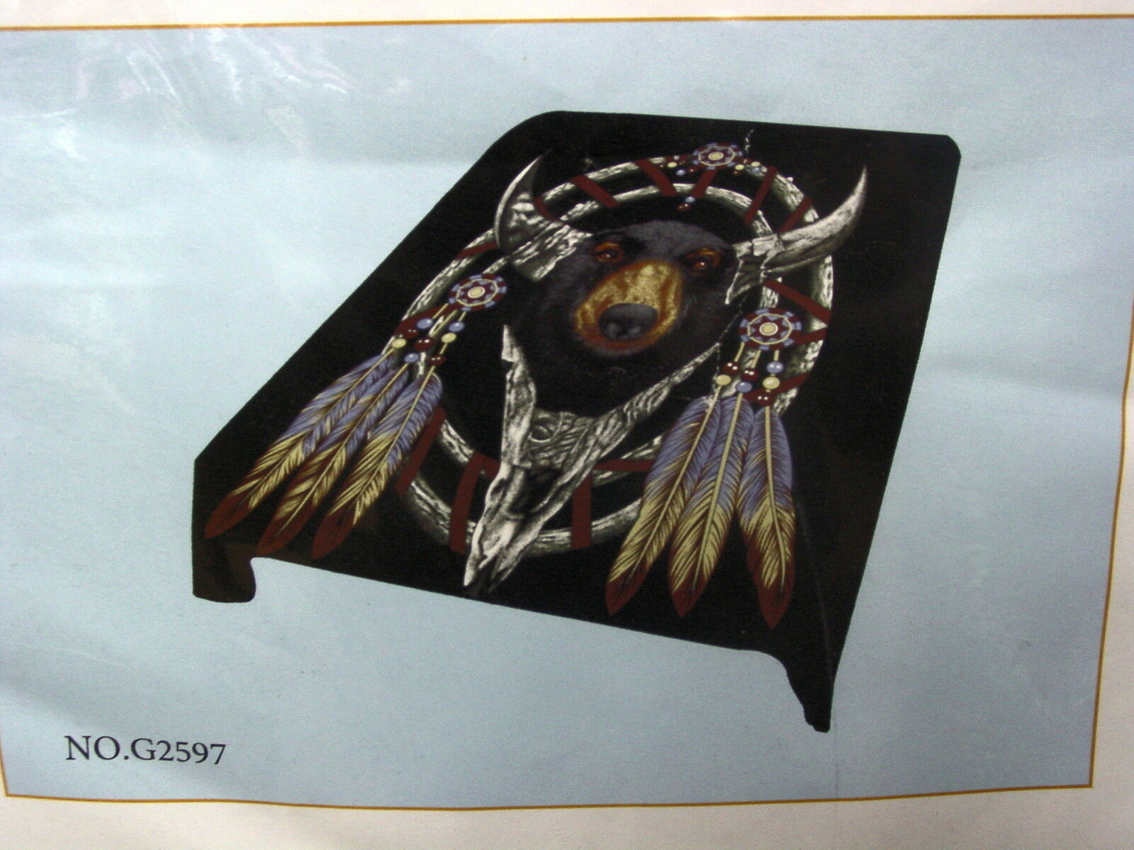 BEAR DREAMCATCHER QUEEN SIZE BLANKET BEDSPREAD
