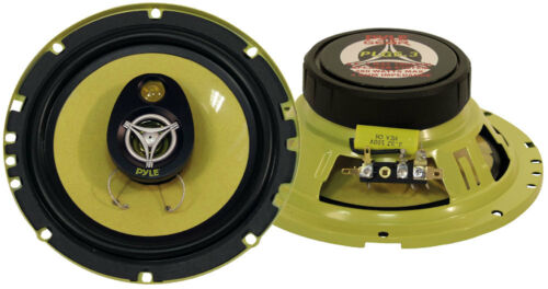 """NEW 6.5/"""" Shallow Mount 3way Car Audio Speakers.4ohm Stereo Pair.Door.6-1//2/"""" 2"""