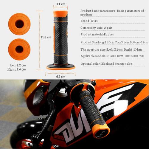 Motors Rubber Soft Non-Slip Hand Grips Handlebar For KTM E Eide Off-road Scooter
