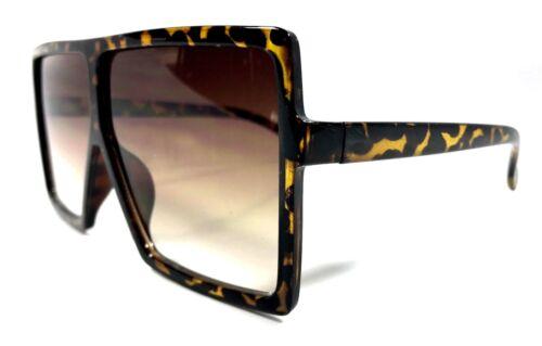 """XXL OVERSIZED /""""BETTY/"""" Lauren Women Sunglasses Aviator Flat Square Shadz GAFAS"""