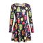 Plus-Size-Womens-Christmas-Mini-Swing-Dress-Xmas-Party-Long-Tops-T-Shirt-AU-5XL thumbnail 17