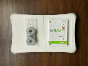 Wii Fit Game and Balance Board, Both Tested and Working (Batteries Included)