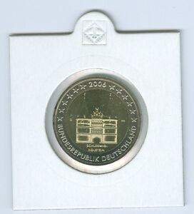 RFA 2 Euro pièces commémoratives collection 2006-2016 ADFGJ complet. Tampon Brillance (85 pièces)