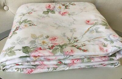 ~ Rare Vintage Ralph Lauren Faye Meadow Way King Duvet ~ Shabby Cottage Chic ~