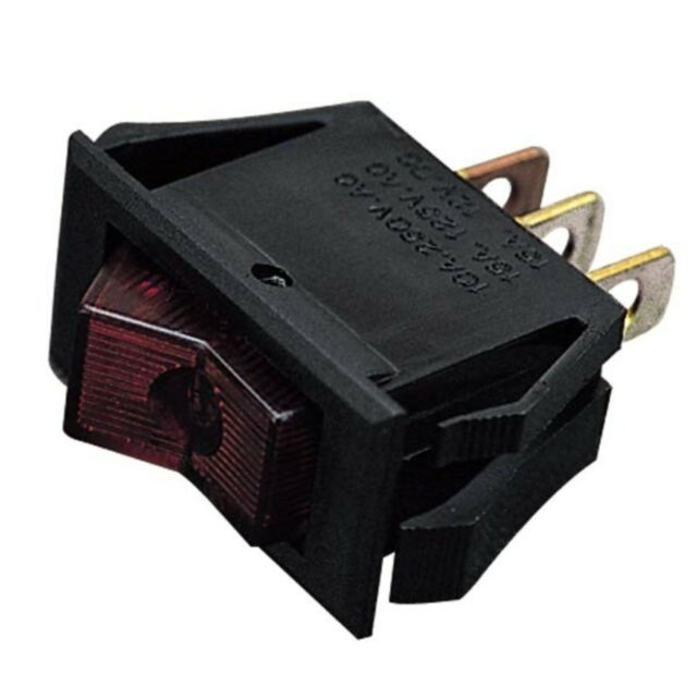 Sea Dog 420443-1 Small Rocker Switch On-Off-On SPDT