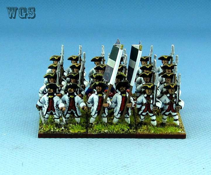 15mm SYW Seven Years War WGS painted French 1684 69t LORRAINE Fa11