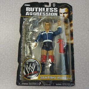 Ruthless Agression RA-WWE Jakks Wrestling Figure B Santino Marella