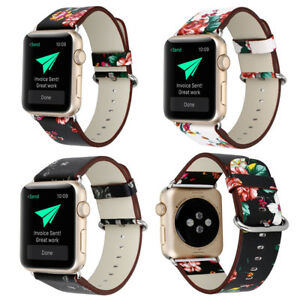 New Colorful Leather Band Strap Iwatch 38 42mm For Apple Watch Series 3 2 1 Ebay