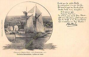 CPA Song Of Theodore Botrel La Paimpolaise III