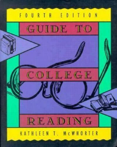 Guide to College Reading [Paperback] [Sep 01, 1996] McWhorter, Kathleen T.
