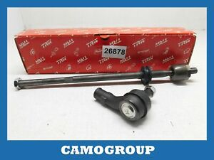 BAR Steering Tie Transverse Front Tie Rod Assembly VW Golf 3