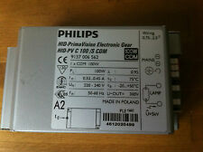 BALLAST ELECTRONIQUE PHILIPS HID PRIMA VISION 100w /S HPS CDM  NEUF
