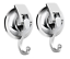 Heavy Duty Vacuum Suction Cup Hooks 2Pack Specialized for Organization by