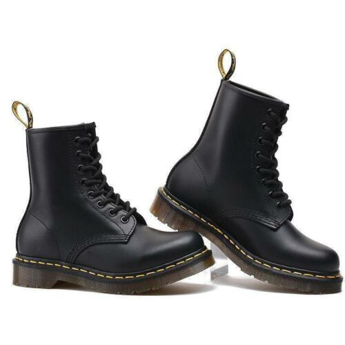2019 Classic Dr Martens Doc Boots Stiefel Smooth 8 Eye Loch 1460 Lederstiefel