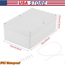 23015085mm Water Resistant Plastic Enclosure Project Case Diy Junction Box