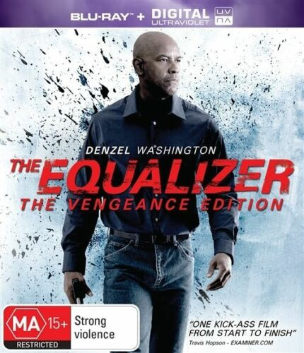 1 of 1 - The Equalizer Vengeance Edition (Blu-ray, 2015)