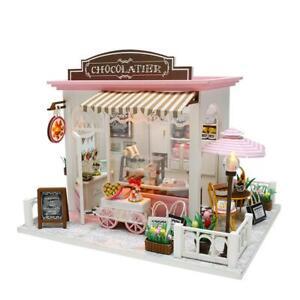 Mini-3D-Holzpuppenhausmöbel style DIY Miniatur-Puppenhaus-Set /& Spielzeug