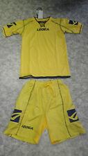 Abverkauf !  Trikot-Set (Trikot+Hose) New Zurigo  v. LEGEA  gelb   2XS oder S