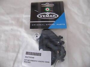 SL070045 Coppia movimenti visiera VEMAR VSS VSR VRR Seconda Serie BOTTONE Sblocc