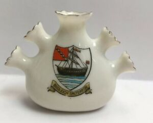 Vintage-Crested-China-Budleigh-Salterton-Warren-Made-In-England