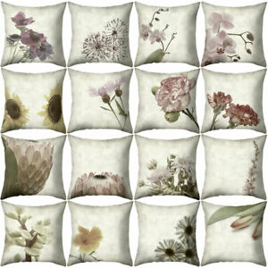 Am-Classic-Flower-Square-Throw-Pillow-Protector-Case-Cushion-Cover-Bedding-Arti
