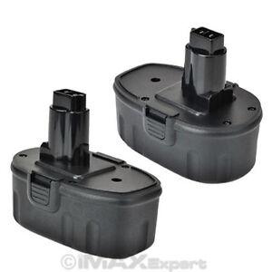 2-NEW-18V-NI-CD-Battery-for-DEWALT-DC9096-DE9096-DW9096-18-Volt-Cordless-Drill
