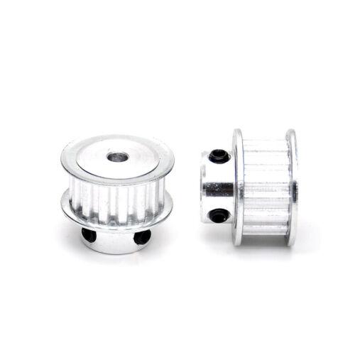 3D Printer XL15T Timing Belt Pulley Gear Wheel 4-12mm Bore For 10mm Belt Width