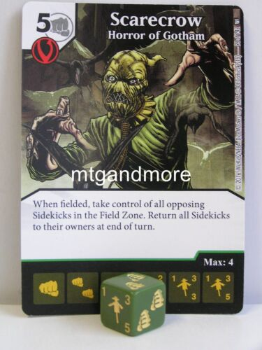 World´s Finest #098 Scarecrow Horror of Gotham DC Dice Masters