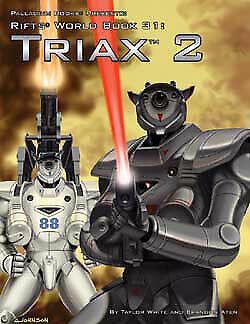 World Book 31 Triax 2 PAL0881 Palladium Books Rifts RPG
