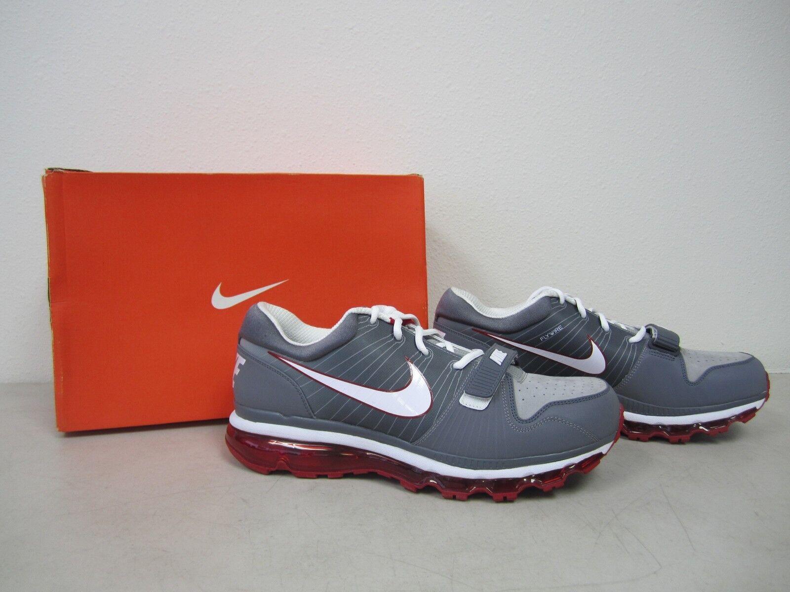 Uomo Nike Trainer 1 Low Shoes - Graphite/Grey/White - Size 12.5 - Promo Sample