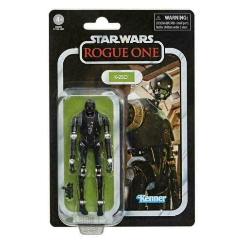 """Hasbro Star Wars Kenner Vintage Collection 3.75/"""" ROGUE ONE K-2SO BRAND NEW"""