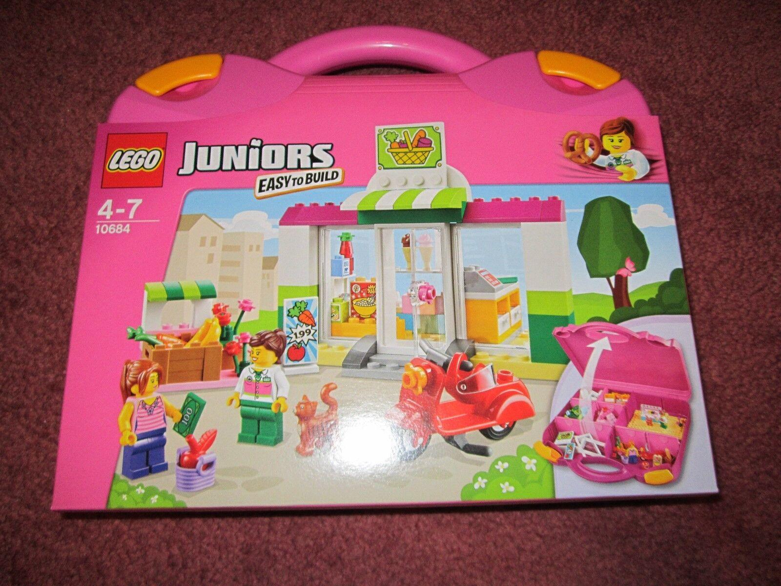 LEGO JUNIORS SUPERMARKET SUITCASE 10684 - NEW BOXED SEALED
