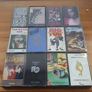 Cassette-Bundle-Job-Lot-80s-Rock-Indie-Alternative