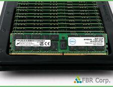 16GB Micron Dell SNP1R8CRC//16G PC4 2133P DDR4 2Rx4 Memory MTA36ASF2G72PZ-2G1 LOT