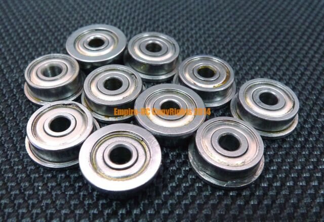 2 PCS 440c Stainless Steel FLANGE Ball Bearing Bearings SMF95zz MF95zz 5x9x3 mm