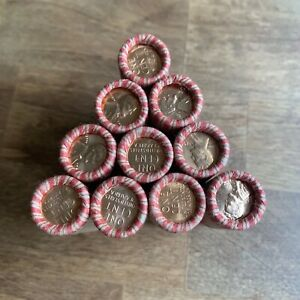 Brilliant-Uncirculated-Wheat-End-Wheat-Rolls-Unsearched-Cents-Pennies-BU-US
