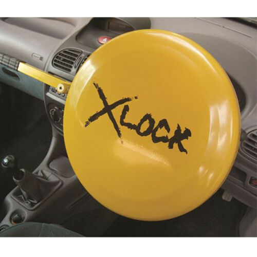 X LOCK FULL FACE STEERING WHEEL LOCK CLAMP SECURITY CAR VAN VEHICLE XLOCK