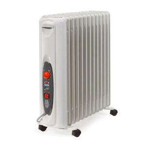 WARM Made in Italy Radiatore elettrico a olio calorifero termosifone stufa