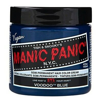 Manic Panic VOODOO BLUE Classic Hair Dye 118mL