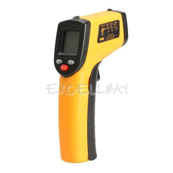 IR Laser Point Infrared Gun Thermometer Temperature Meter Tester Non-Contact New