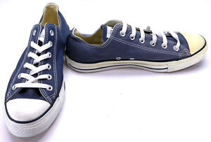 Converse Shoes Chuck Taylor Ox All Star Navy BlueWhite