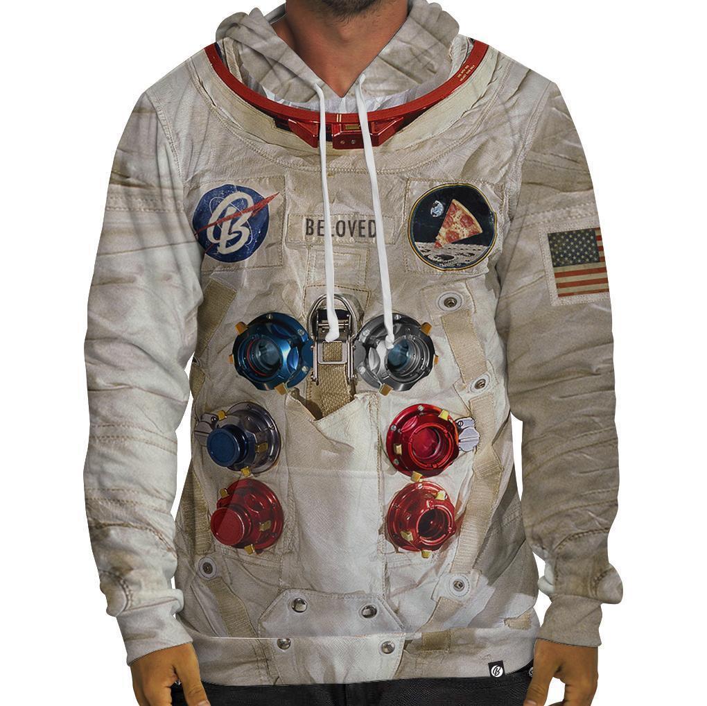 Nuovo Beloved Camicie Astronauta Abito Felpa Felpa Felpa con Cappuccio SMALL-3XLARGE c281ce
