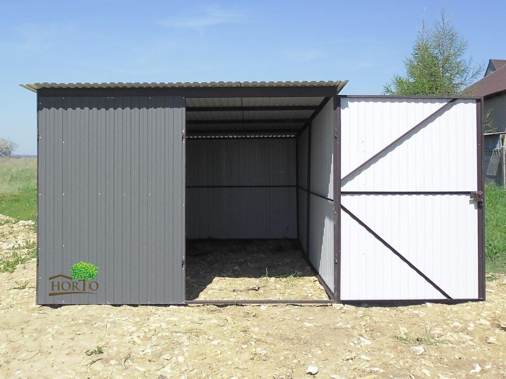 2,9 x 6  RAL 7016 Schuppen Blechgarage Garage Fertiggarage Metallgarage