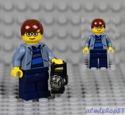 Peter Parker Minifigure Spiderman w// Sweatshirt Jacket The Origins 4851 LEGO