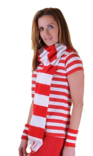 Ladies Girls Men Scarf Night Out Striped 50s Scraves Camouflage Polka Dot Tartan