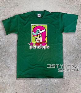camiseta-de-hombre-PENELOPE-PITSTOP-PIT-STOP-5-Pussycat-le-Autos-Locos-e-Patan
