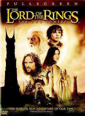 The Lord of the Rings: The Two Towers DVD, 2003, 2-Disc Set, Full Screen