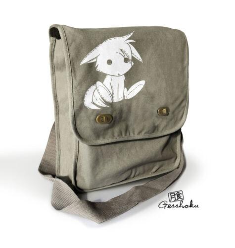 Kawaii Fox Bag Messenger shoulder bag canvas cute animal anime laptop tablet bag