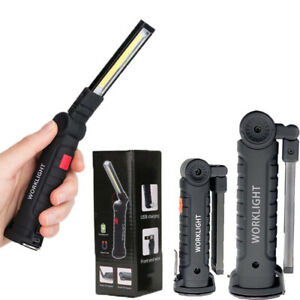 COB-LED-Magnetic-Work-Light-Rechargeable-Inspection-Torch-Lamp-Flexible-Cordless